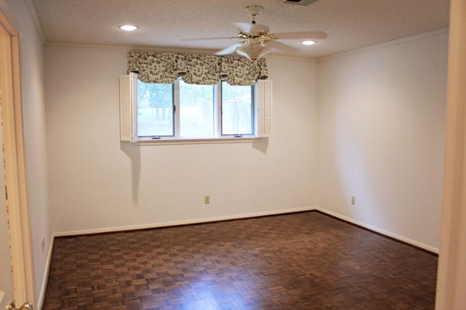 bedroom parkay wood floors refinished