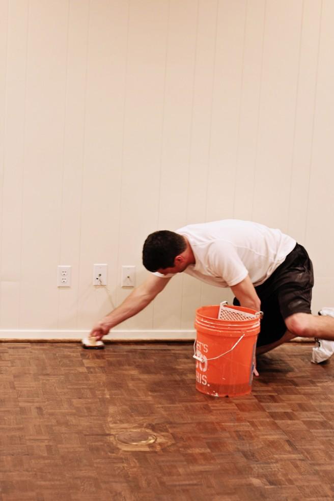 parquet wood floor reno 2