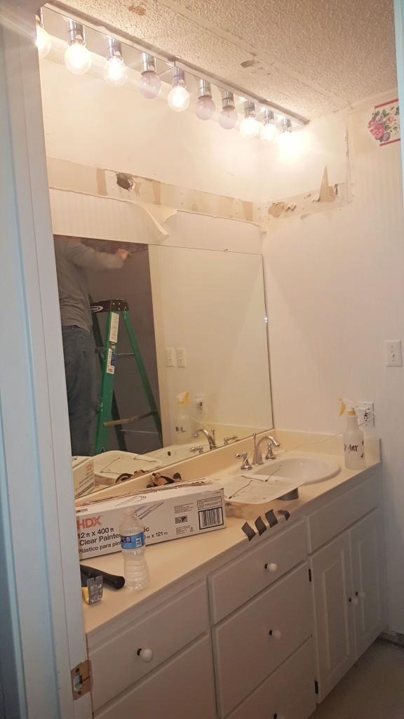DIY bathroom reno 1