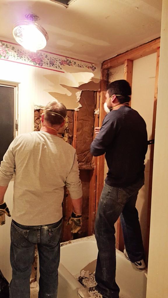 DIY bathroom renovation 2