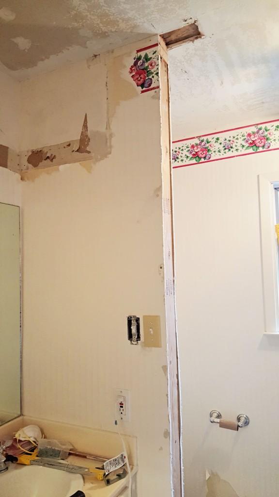 DIY bathroom renovation 4